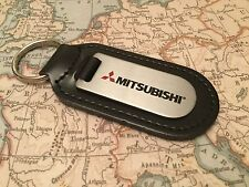 MITSUBISHI Key Ring Etched and infilled SHOGUN OUTLANDER ASX MIRAGE
