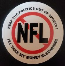 Boycott NFL Angry Fan Keep the Politics out of Sports!