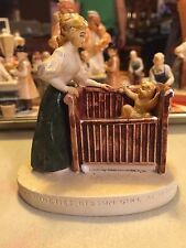 Sebastian Miniatures The Nineties Gibson Girl At Home Corp 1960 no initals