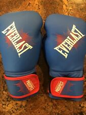 Everlast Prospect Youth Training Gloves Blue 8oz
