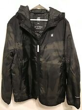 G-STAR RAW Setscale Hooded Overshirt Myrow Nylon Carbon Men Size XXL NWT
