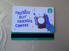 "STARBUCKS gift card 2020  ""FRIENDS BUY FRIENDS COFFEE"" VHTF Not Activated"
