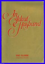 "Playbill "" An Ideal Husband "" Anna Carteret , Robin Browne , Michael Denison"