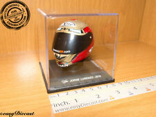 JORGE LORENZO MOTO-GP X-LITE HELMET CASQUE 1/5 2010 INDIANAPOLIS MOTOR SPEEDWAY