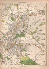 1935 Lancashire: Burnley EST, brunshaw inferiore, Harle Syke, ROSE Hill