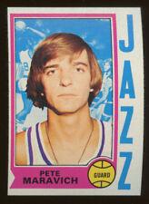 1974 Topps #10 Pete Maravich Utah Jazz HOF NM