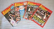 LOT 4 NBA ALL STAR GAMES SUPER BASKET MAGAZINES, VINTAGE 1990-1993! SPAIN, VGC!