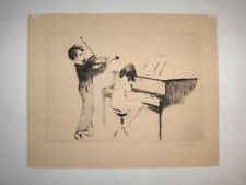 AAA Lithograph Margery Ryerson Bolero Pencil Signed Listed Artist