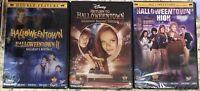 DISNEY HALLOWEENTOWN 1,2,3,4 DVD COMPLETE COLLECTION SET NEW! II, RETURN TO HIGH