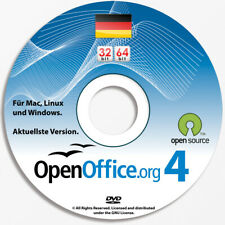 Windows & Mac •OpenOffice Professional Office-Suite Word Excel Powerpoint Home