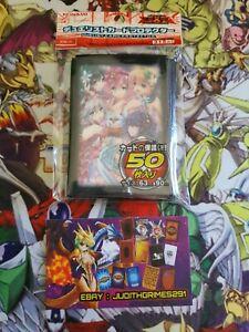 ♦️ Yu-gi-oh 50 Protège Carte Sleeve Magicienne Traptrix Girl Sexy