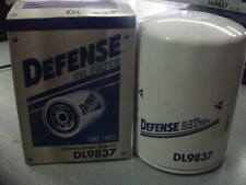 Defense DL9837 Engine Oil Filter Brand New With Free Shipping