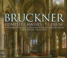 Anton Bruckner Messes (Intégrale) - Te Deum, New Music