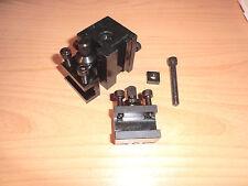 Schnellwechselstahlhalter f. EMCO Unimat 3 +4+ PC quick change holder
