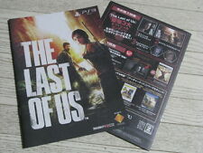 THE LAST OF US 2013 JAPAN BOOKLET ZOMBIE HORROR PS3 GAME NAUGHTY DOG UNCHARTED