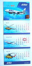 UTAIR Aviation Russian Airlines PLANES Wall LARGE Size Calendar 2013 NEW