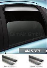 deflettori antivento Climair, posteriore Fiat Panda 2003 - 2012