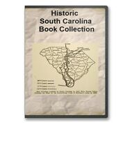 South Carolina SC State County History Family Tree Genealogy Book Set - B297