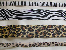 May Arts Animal Print Satin Ribbon 38mm Wide 1 or 3 Metres Zebra Full Roll (30 Yards)