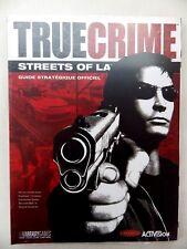 True Crime guide stratégique FR officiel book soluce neuf s/ plastique VF