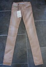 DIESEL Tan GRUPEE Super Slim Skinny Stretch Jeans Label Size W 23 X L 34 BNWT