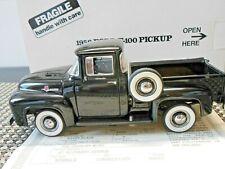 Danbury Mint 1:24 1956 Black Ford F-100 Pickup Truck Diecast