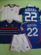 Lot 4 Maillot + 1 Short Equipe de France Vintage Ribery Adidas Enfant - 12 ans