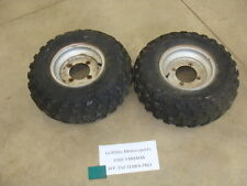 88 1988 YAMAHA TERRAPRO TERRA PRO FRONT WHEELS RIMS TIRES WHEEL OEM 22X8-10 87