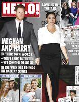 Hello Magazine Meghan Markle Prince Harry Fergie Victoria Yeates Matthew Wright