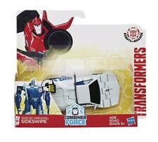 "TRANSFORMERS RID COMBINER FORCE ""SIDESWIPE"" ACTION FIGURE (HASBRO)"