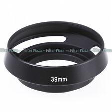 39mm Metall Vented Sonnenblende Gegenlichtblende Lens Hood für Leica M Leitz Neu