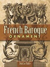 French Baroque Ornament by Jean Le Pautre (Paperback, 2008)