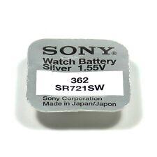 SONY 1 pile Sony 362 SR721SW silver oxide 1,55V