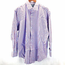 Polo Ralph Lauren Men's Classic Fit Button Shirt Size XL Striped 100% Cotton