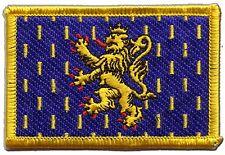 Écusson brodé drapeau FRANCE FRANCHE-COMTé franc-comtois 5x8cm Thermocollant