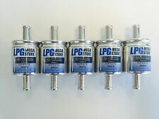 5 Stück Autogas Filter Gasfilter 16 mm LPG CNG 16/16