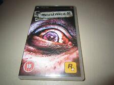 Manhunt 2 for the Sony PSP
