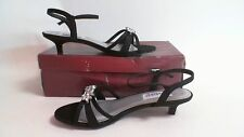 NEW: Dyeable Bridal/Evening Shoes - Penelope - Black  - US 6D- UK 4  #38R219
