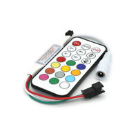 Mini LED IR Controller DC5-24V IR 21Key WS2812B WS2811 Dream Color Remote