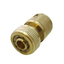 """1/2"""" Brass Hose Connector Washing Gun Hoselock Connector Water Hose Pipe Fits"""