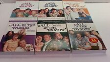 ALL IN THE FAMILY, COMPLETE SEASONS 1-6 DVDS – UNOPENED, read description