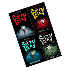 Stitch Head Collection 4 Books Set By Guy Bass The Spider's Lair By Guy Bass NEW
