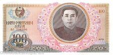 Korea North 100 Won 1978 Unc pn 22a