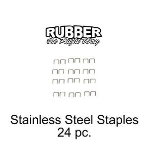 1949 - 1961 DeSoto Stainless Staples For Dust Shields Window Felts & MORE 24 p