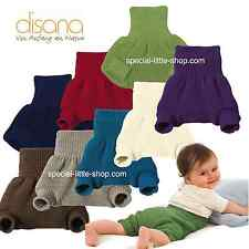 Disana Organic Merino Wool Nappy Diaper Pants Cover Wrap Overpants 9 Colours 98/104 (12-24 Months) Gray