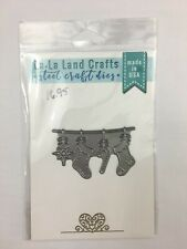 La La Land Crafts - Stocking Banner Die
