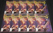 Kitchen Sink GRATEFUL DEAD COMIX #1 - 10pc Count Comic Lot Grade VF-NM Music
