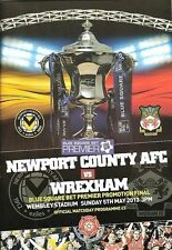 Wrexham Football Non-League Fixture Programmes (2000s)
