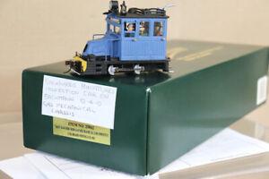BACHMANN SPECTRUM 25862 On30 KIT BUILT REPAIR 0-4-0 INSPECTION CAR LOCOMOTIVE nz