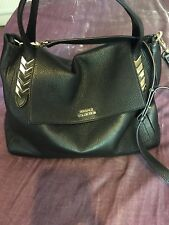 Versace Collection Authentic leather Black bag, Italy.RRP £845.00